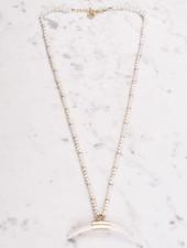 Ann Paige - Beri Horn Necklace