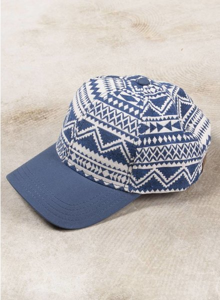 Heather Geometric Baseball Cap
