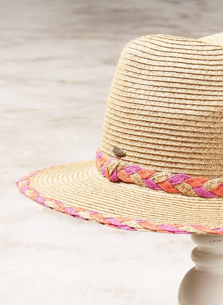 Kayla Braid Paper Hat