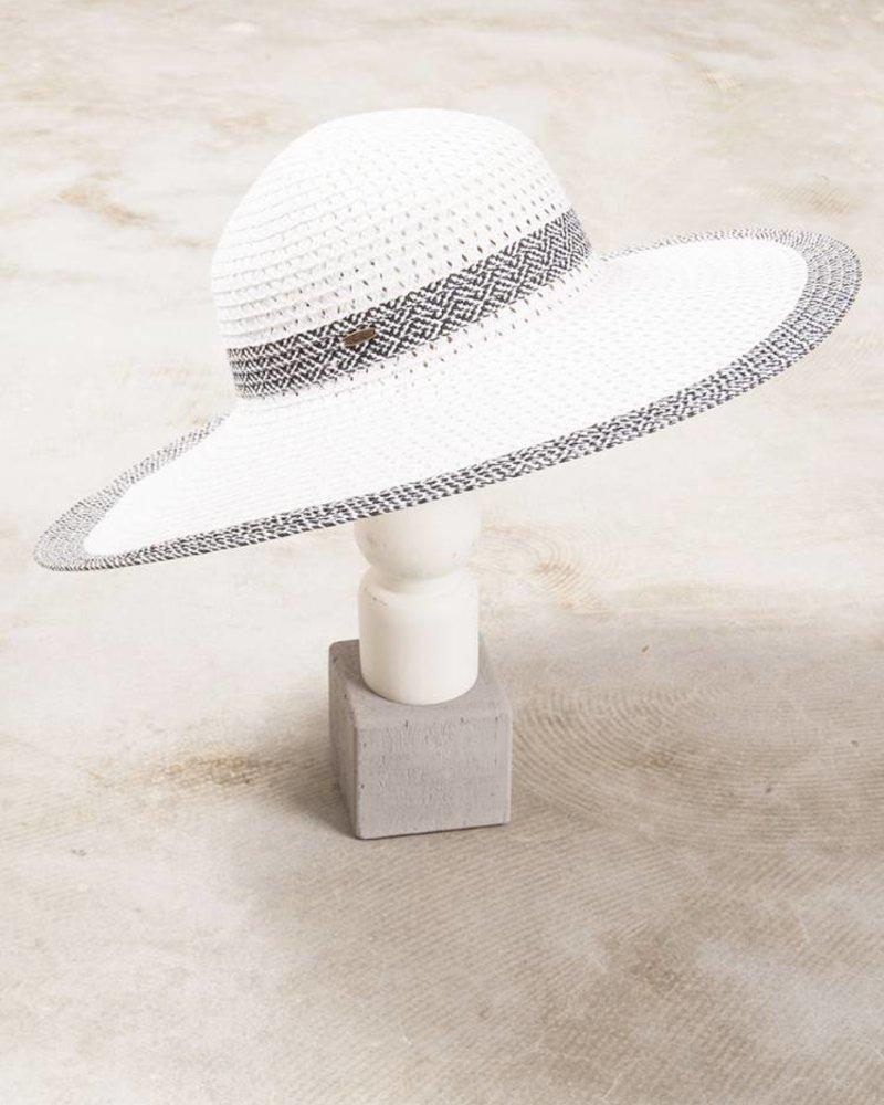 Keri Color Brim Straw Hat