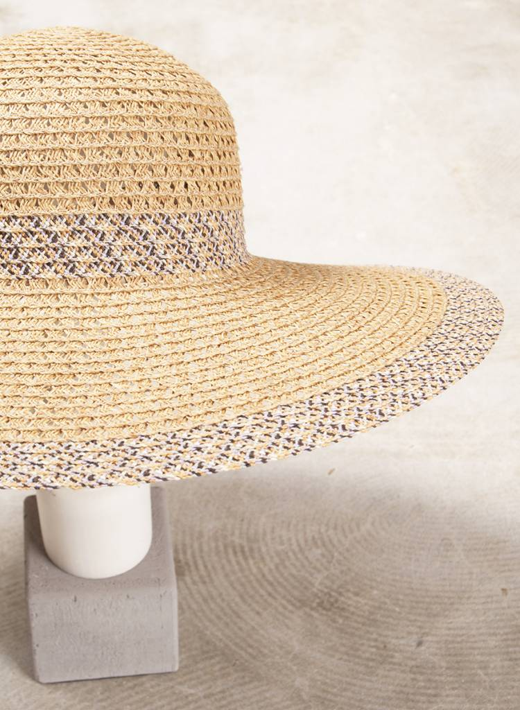 Keri Color Brim Straw Hat