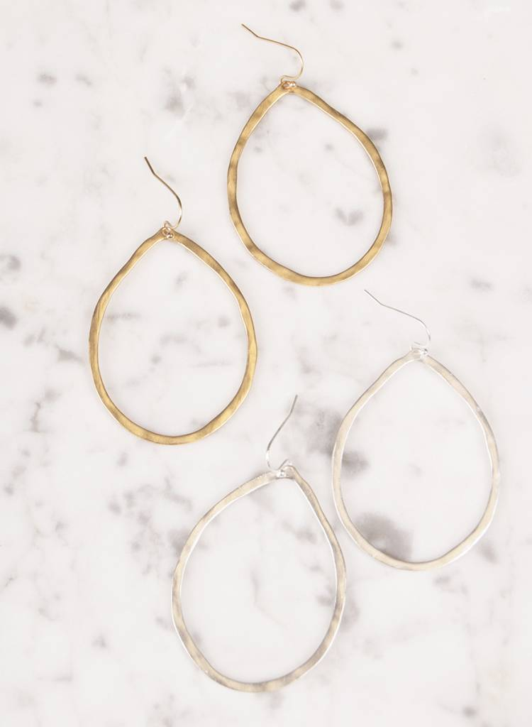Ann Paige - Bora Circle Dangle Earring