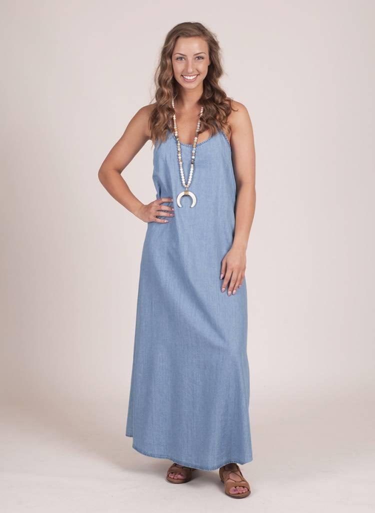 Jade Tencel Maxi Dress