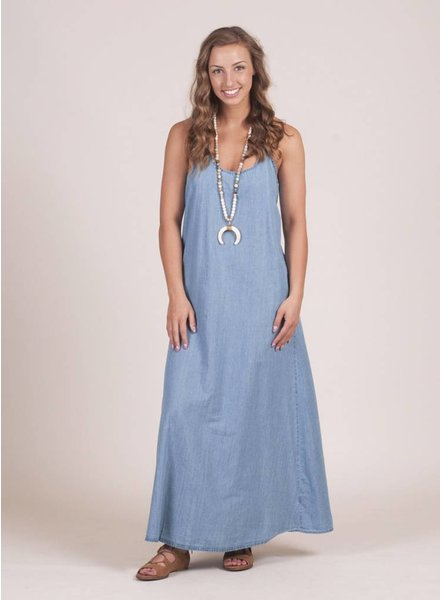 Jade Tencel Maxi Dress