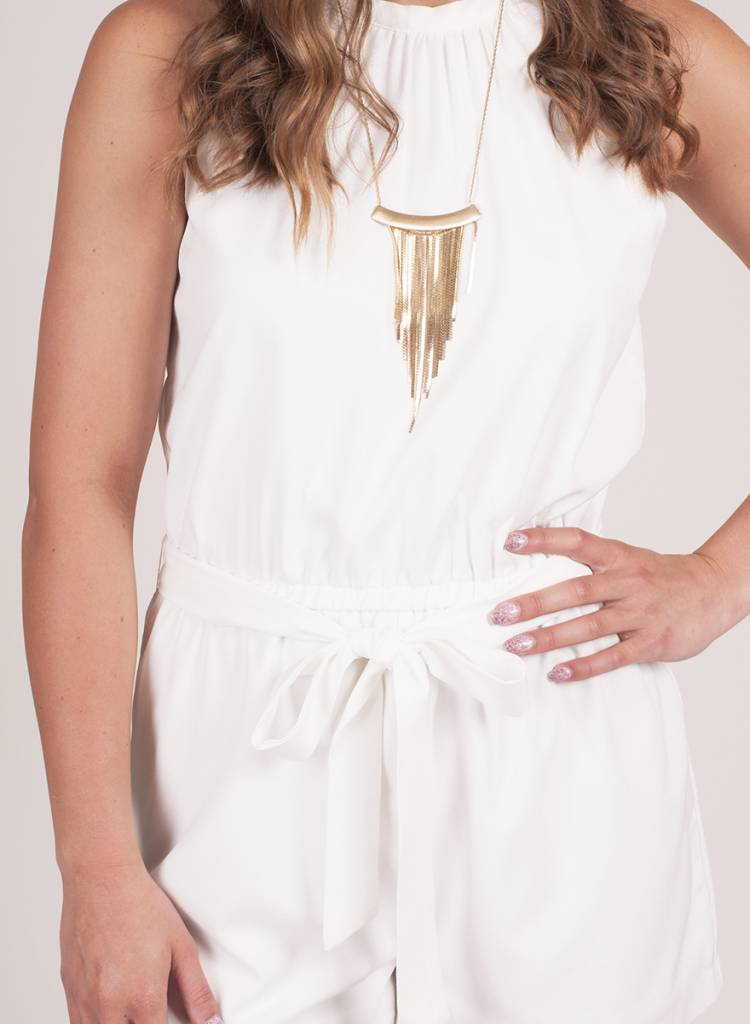 Max Cinched Waist Romper