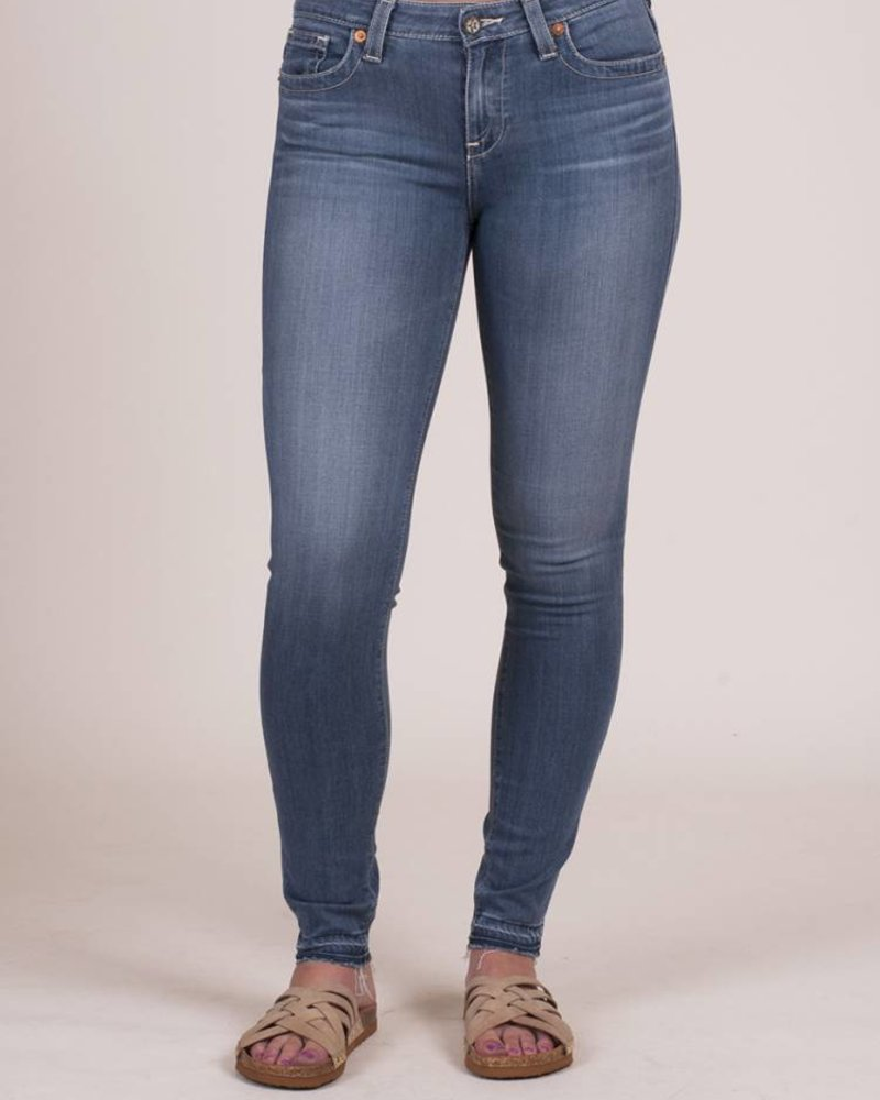 Big Star - Raw Hem Alex Skinny in Solar