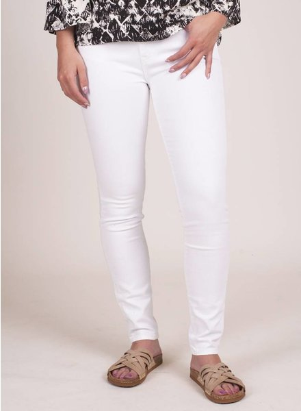 Big Star - White Alex Mid Rise Skinny