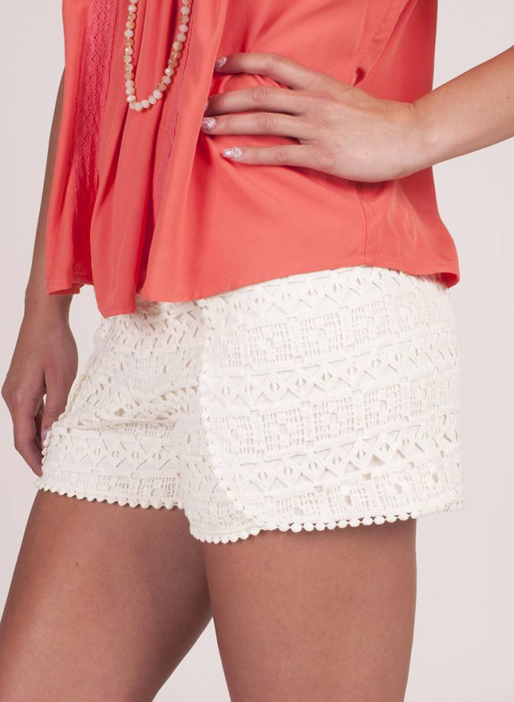 Jack by BB Dakota - Jacoby Lace Short