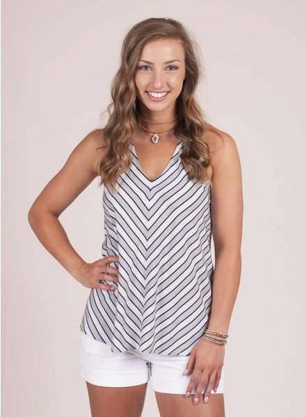Jack by BB Dakota - Barty Stripe Tank
