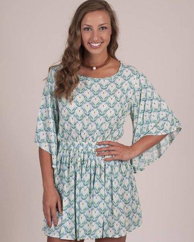 Leela Lily Kimono Dress