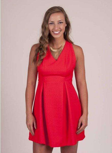 Raquel Crossover Back Dress