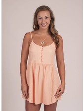 Rosie Chevron Jacquard Tank Dress