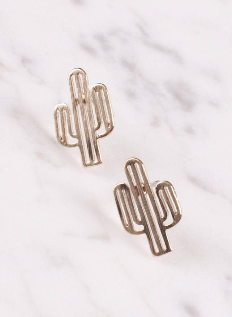 Ann Paige - Lenny Cactus Earring
