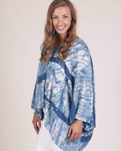 Immy Block Printed Kimono Top