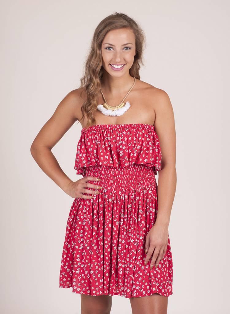 Jack by BB Dakota - Kindsley Floral Smocked Dress