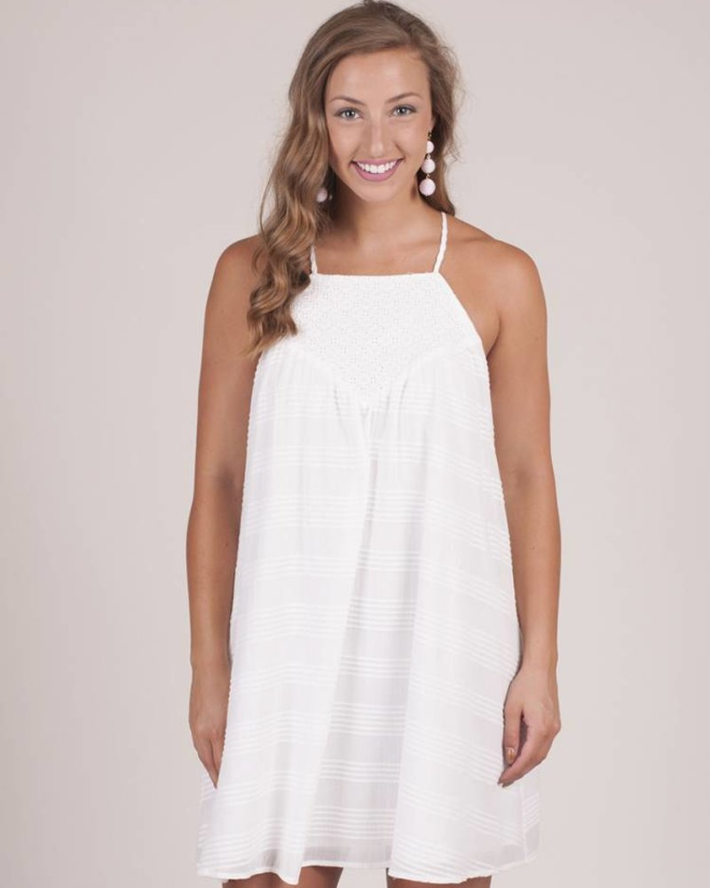 Jack by BB Dakota - Neilan Textured Cotton Dress