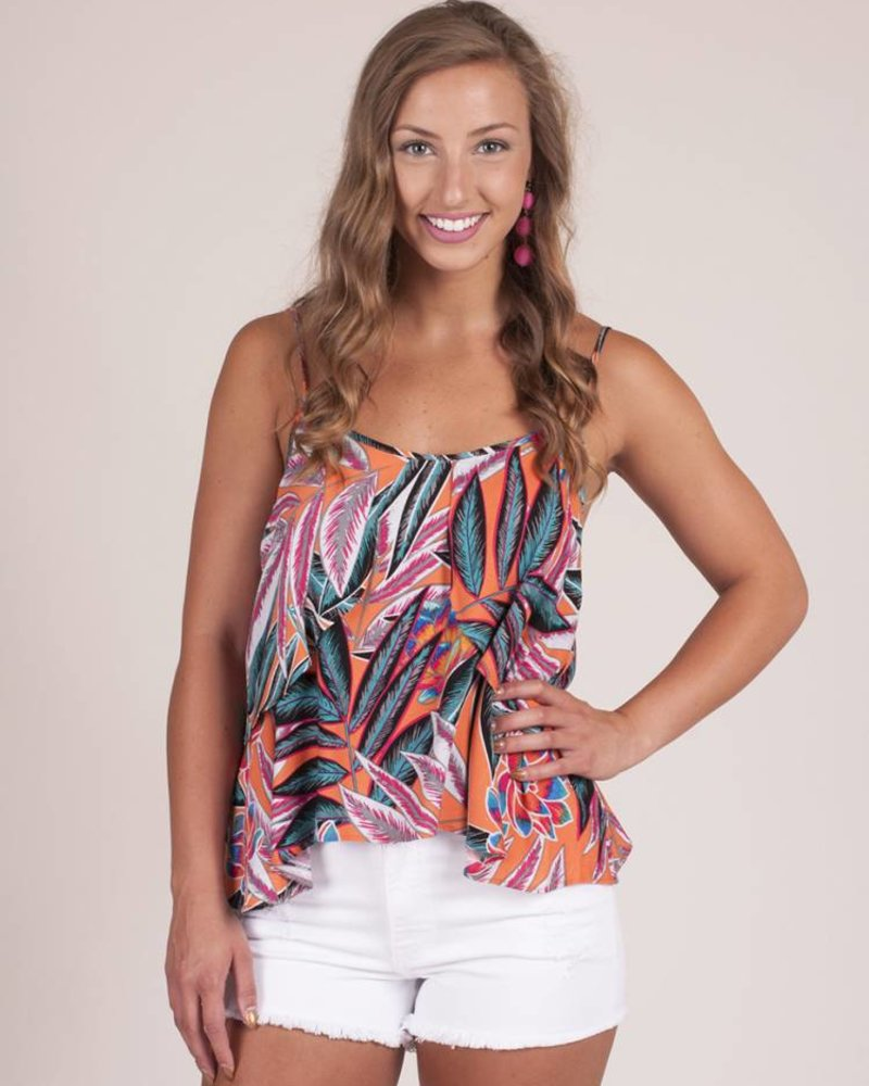 Jack by BB Dakota - Ida Jungle Print Top
