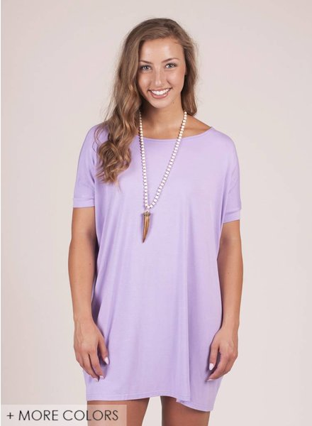 Piko - S/S Drop Shoulder Tunic