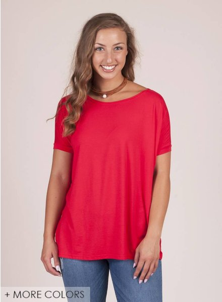 Piko - S/S Drop Shoulder Top