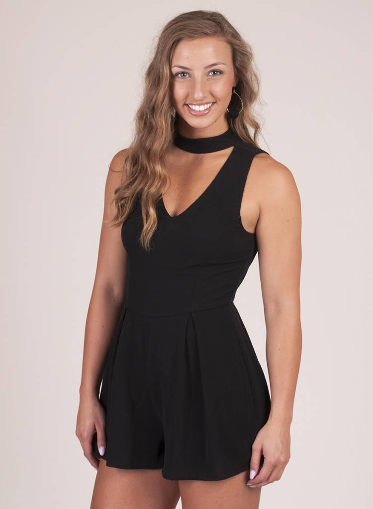Ruthie Romper with Keyhole
