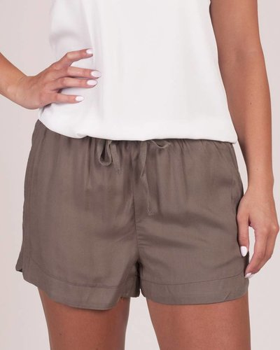 Eleanor Woven Drawstring Short