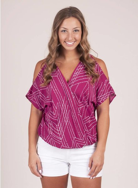 Juno Cold Shoulder Top