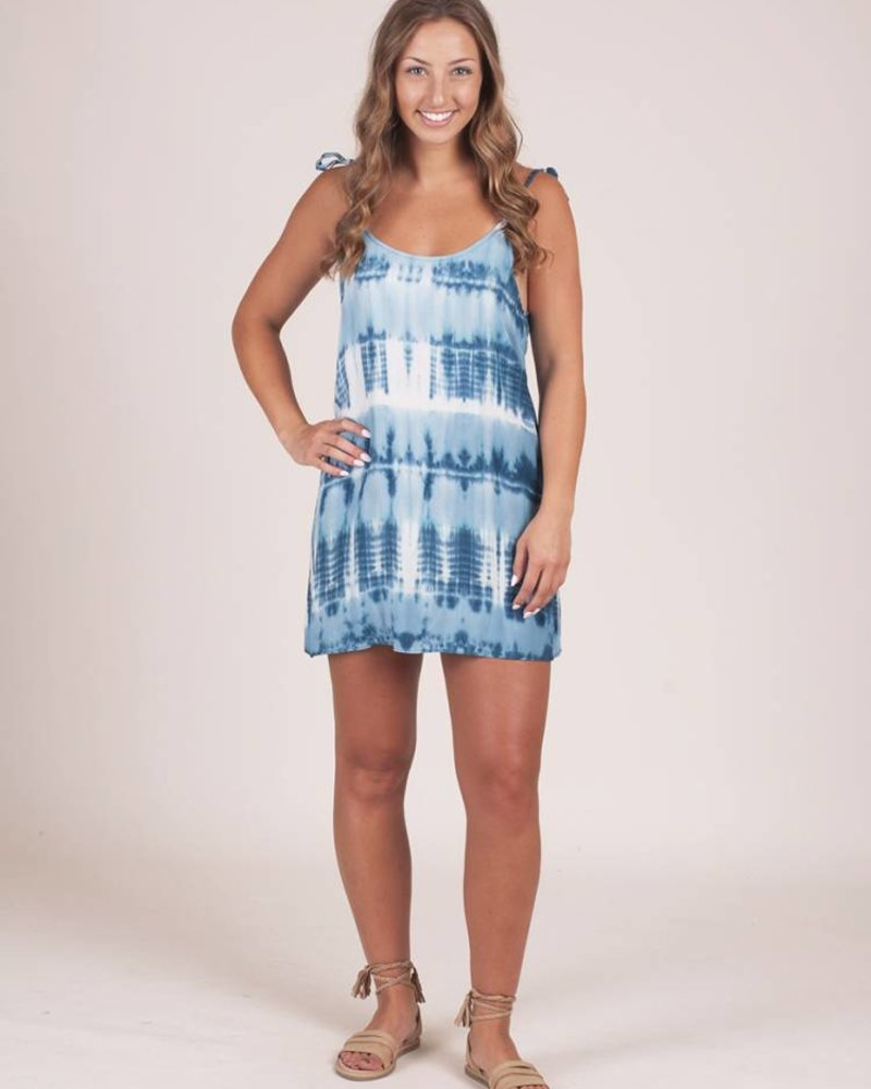 Eva Ocean Tie Dye Tank Dress