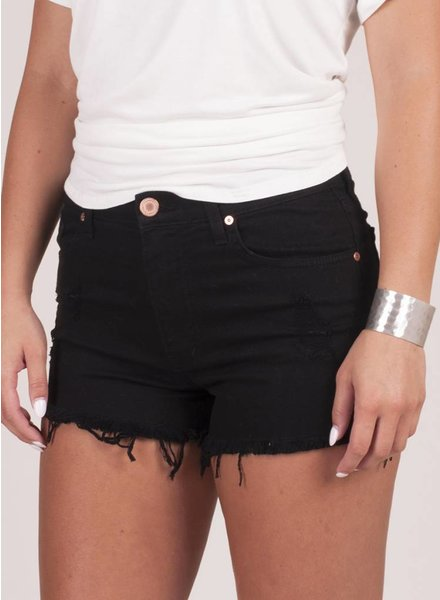 Tillie Distressed Denim Shorts