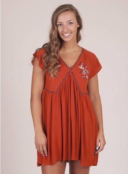 Josie S/S Babydoll Dress