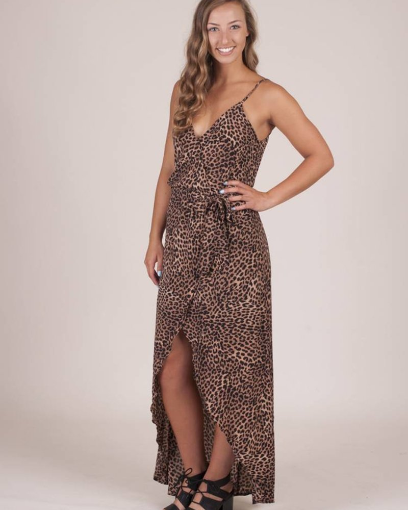 Heidi Cheetah Maxi Dress
