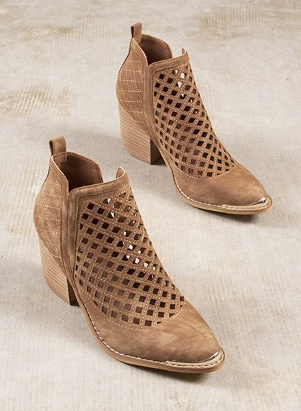Blakely Cutout Bootie