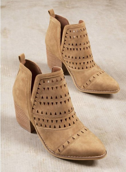 River Cutout Bootie