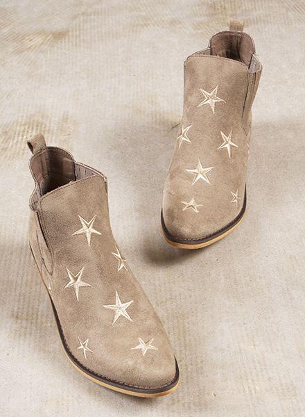 Lana Star Booties
