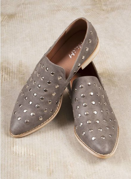 Kira Studded Oxfords