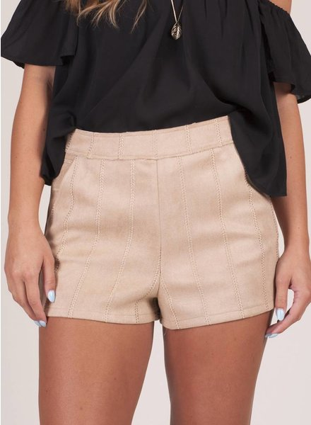 Veronica Faux Suede Shorts