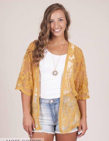 Karlie Lace Kimono