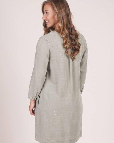 Delilah Splatter Dress