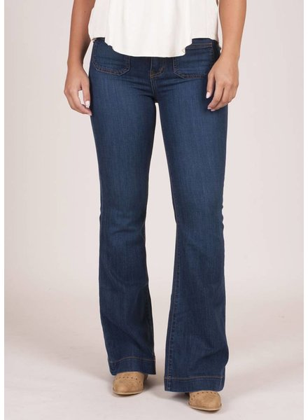 Julie Pocket Flare Jeans