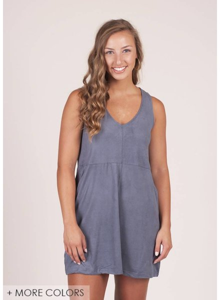 Z Supply - The Suede V-Neck Dress