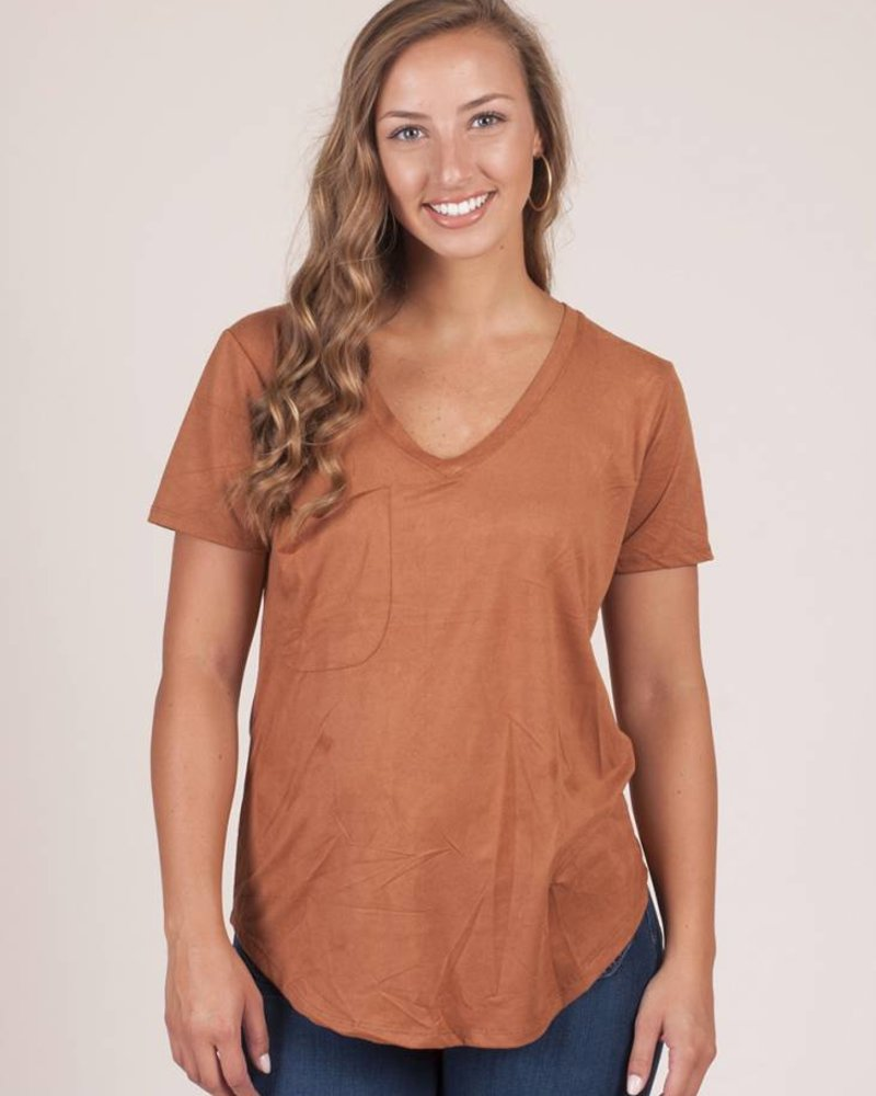 Z Supply - The Suede Pocket Tee