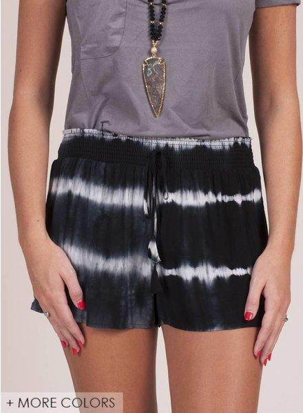 Eclipse Tie Dye Shorts
