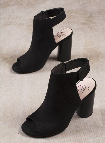 Kortney Peep Toe Booties