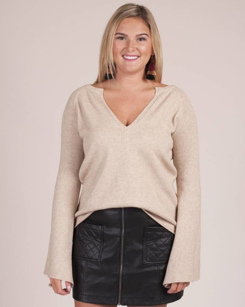 Kenny Bell Sleeve Sweater