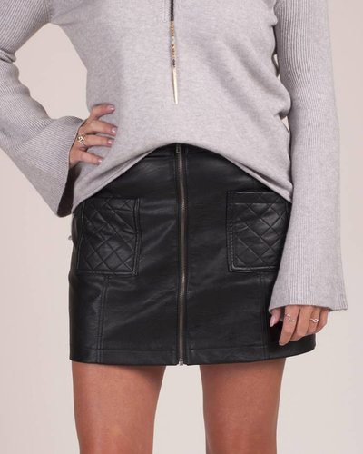 Jack by BB Dakota - Cohen Leather PU Skirt