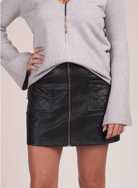 Jack by BB Dakota - Cohen Leather PU Skirt