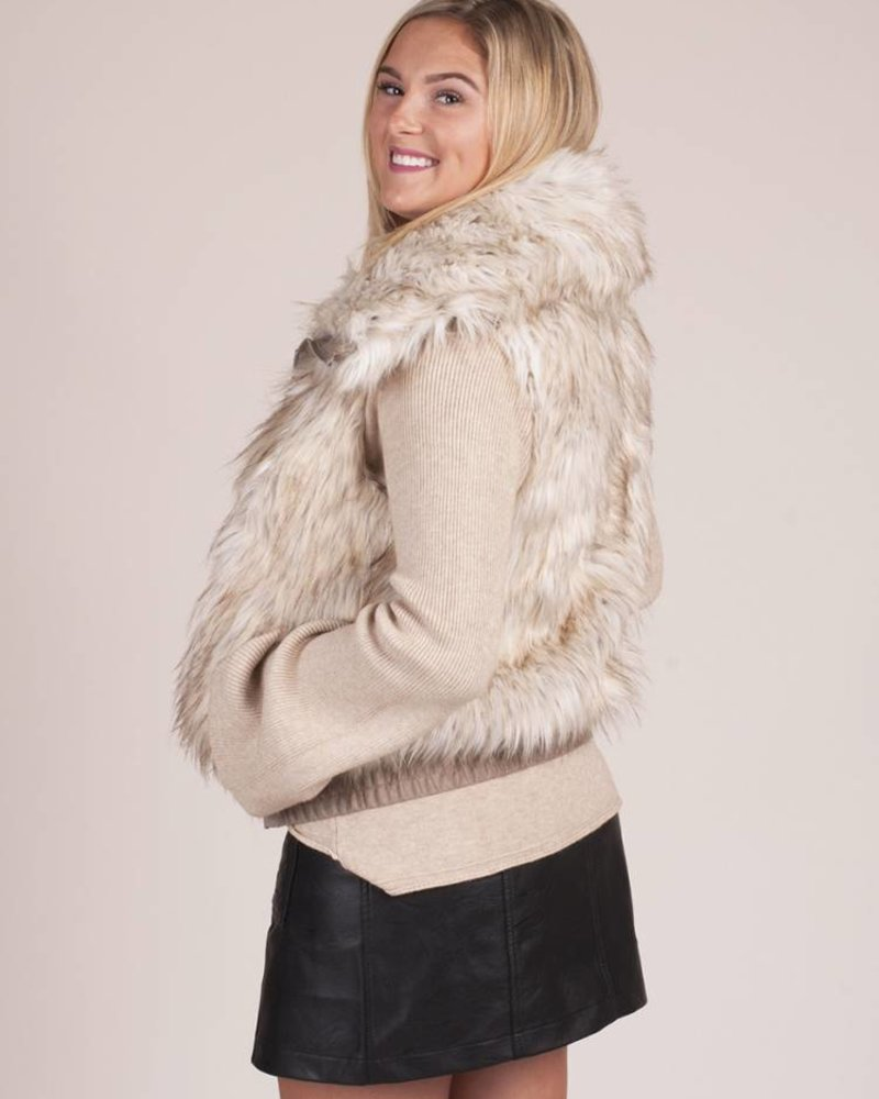 BB Dakota - Hettie Faux Fur Vest