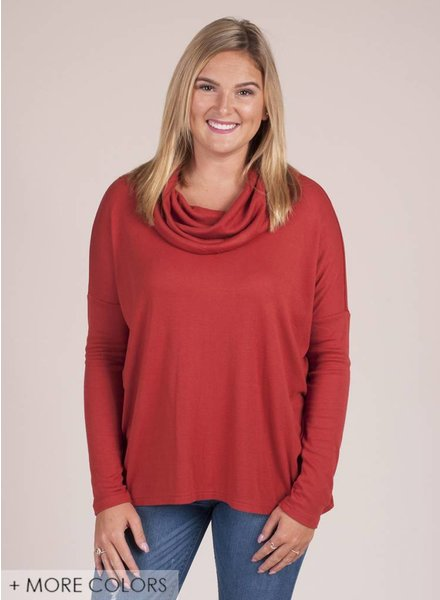Jack by BB Dakota - Hogen Cowl Neck Top