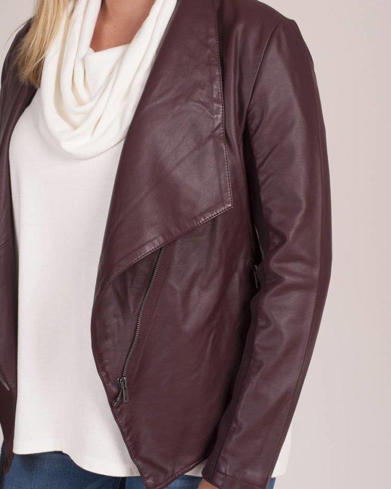 BB Dakota - Gabrielle Leather PU Jacket