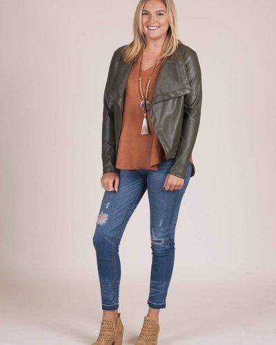 BB Dakota - Gracelyn Leather PU Jacket