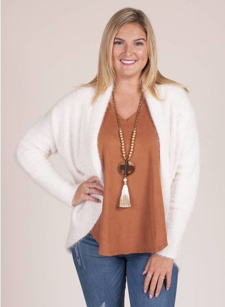 BB Dakota - Sheryl Fuzzy Cocoon Sweater